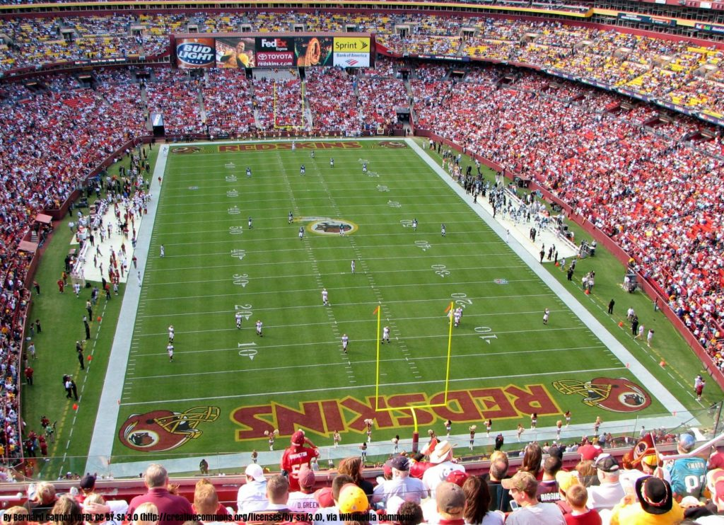 Redskins use Humate for their field